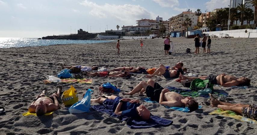 Loopwijzer trailrun vakantie strand Nerja